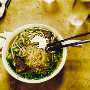 A warm, comforting bowl of pho on a balmy winter day in Atlanta.