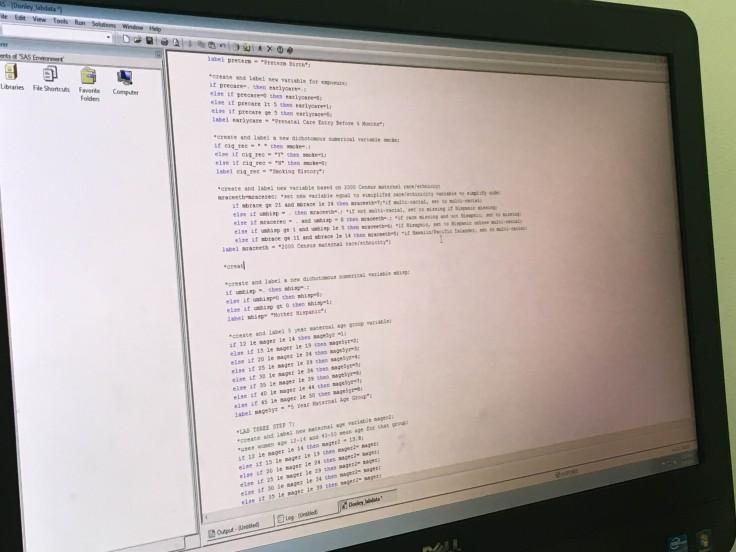 SAS Code